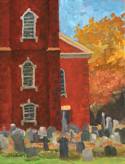church painting 72